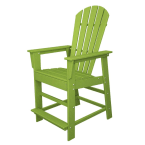 Polywood South Beach Lime Counter Chair