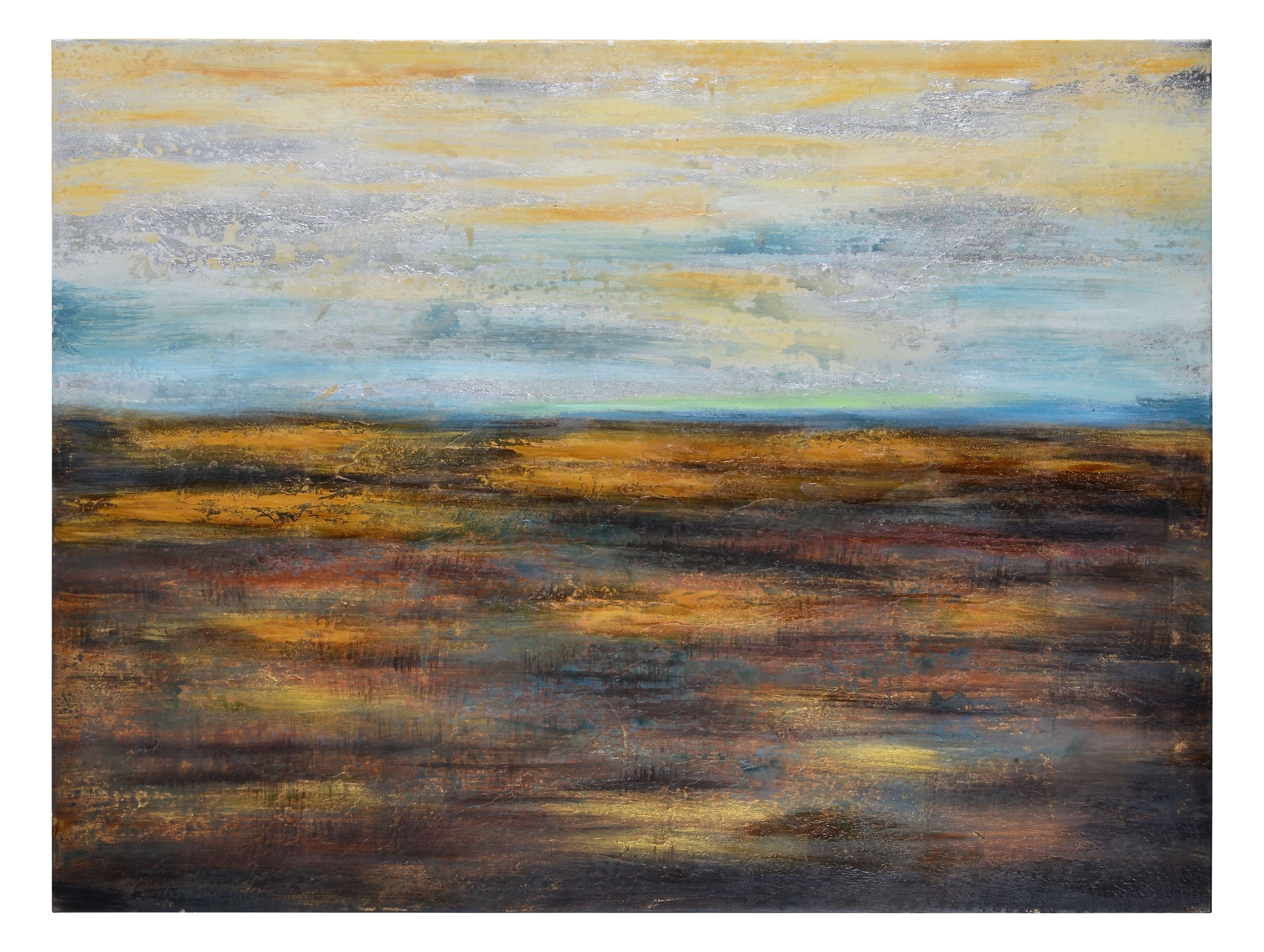 Open Spaces Textured Oil Wall Art