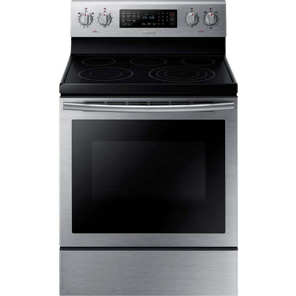 """30"""" Stainless Steel Electric Range - Convection"""