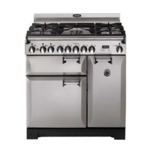 "Legacy 36"" Stainless Steel Dual Fuel Sealed Burner Double Oven Range - Convection"