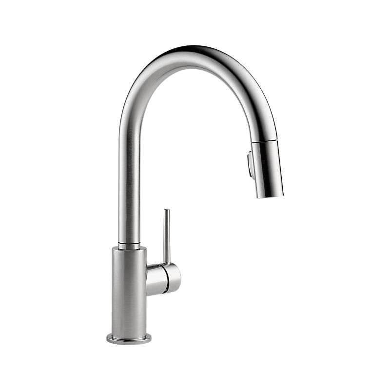 Trinsic Single Handle Pull-Down Kitchen Faucet 9159ARDST