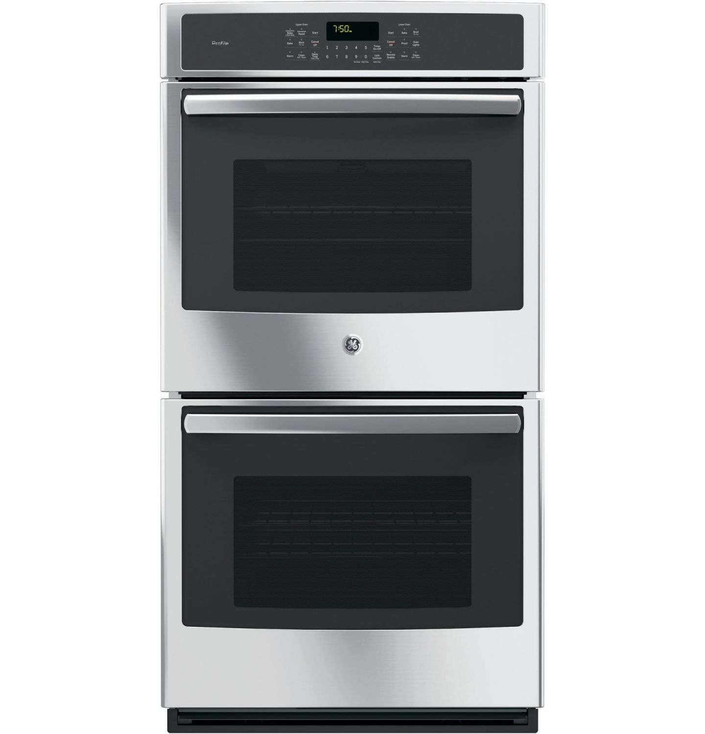 "Profile 27"" Stainless Steel Electric Double Wall Oven - Convection"