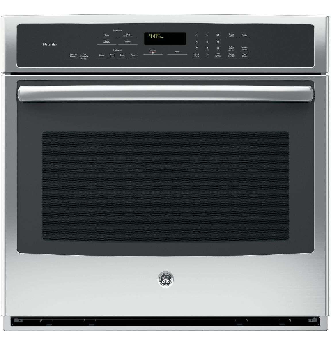 "Profile 30"" Stainless Steel Electric Single Wall Oven - Convection"