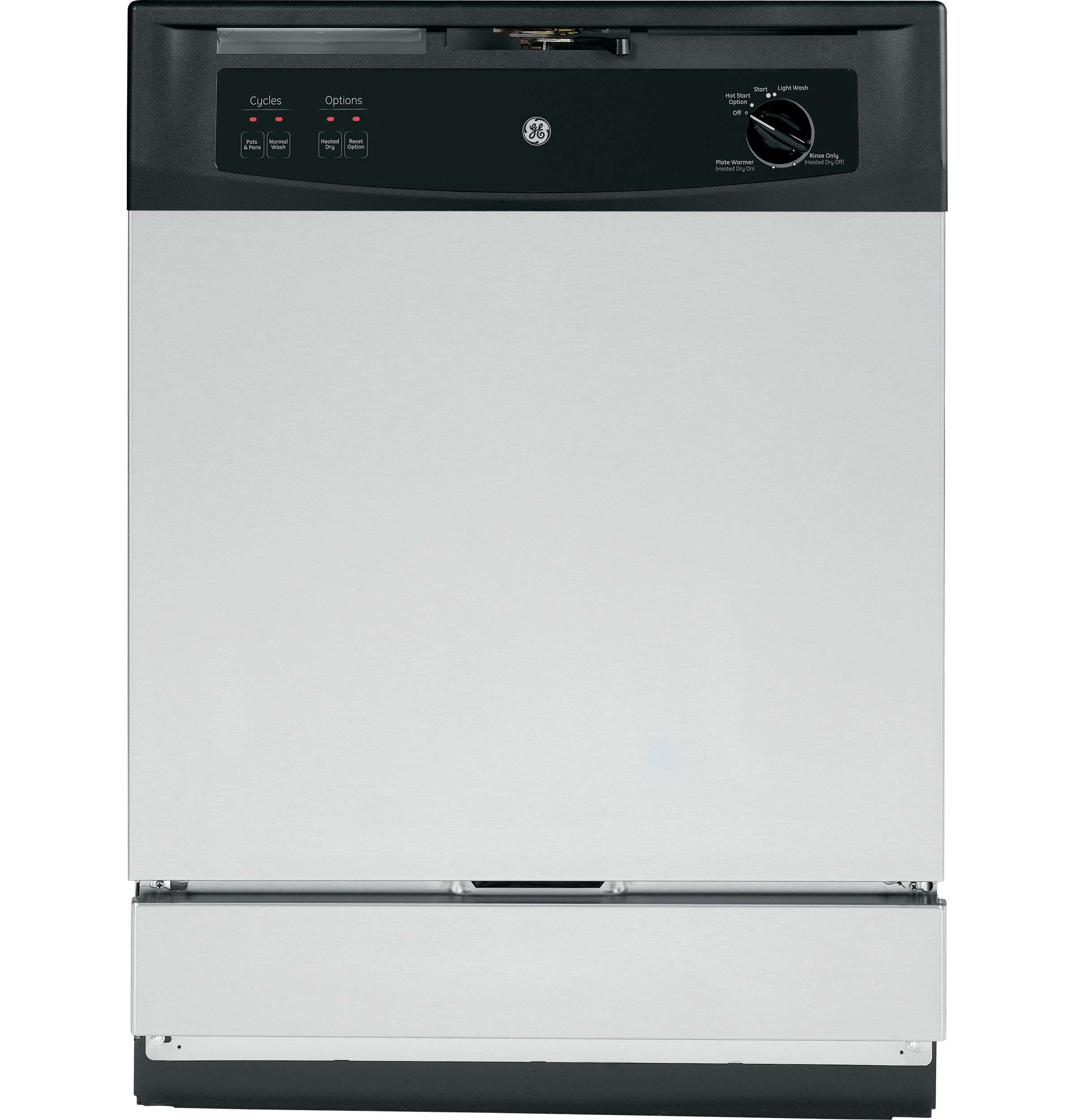 GE Spacemaker 24 In. Stainless Steel Built-In Dishwasher - GSM2260VSS Image 2