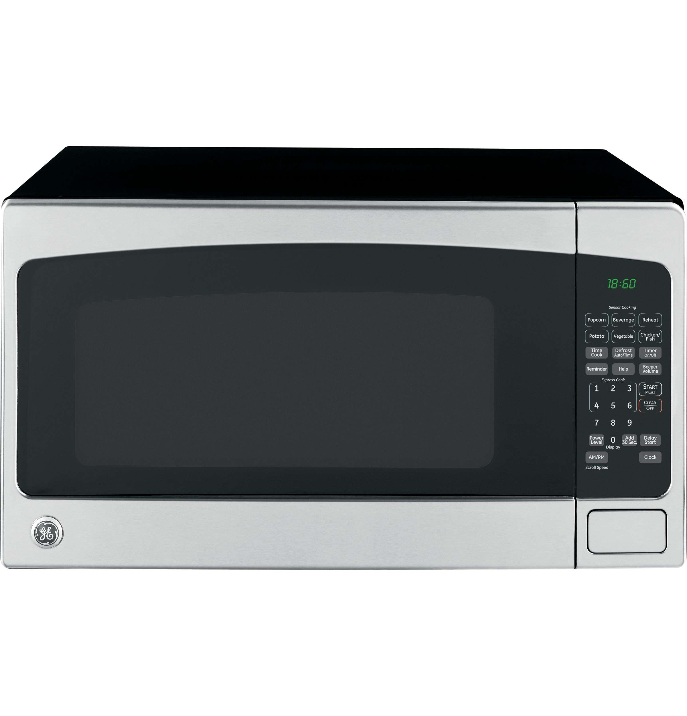 GE 2.0 Cu. Ft. Stainless Steel Countertop Microwave - JES2051SNSS Image 2
