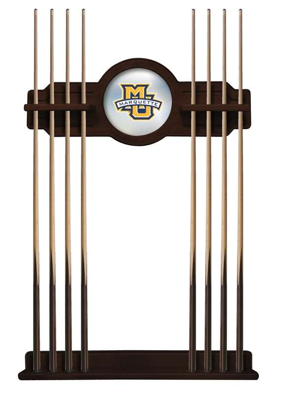 Marquette University Cue Rack in English Tudor Finish