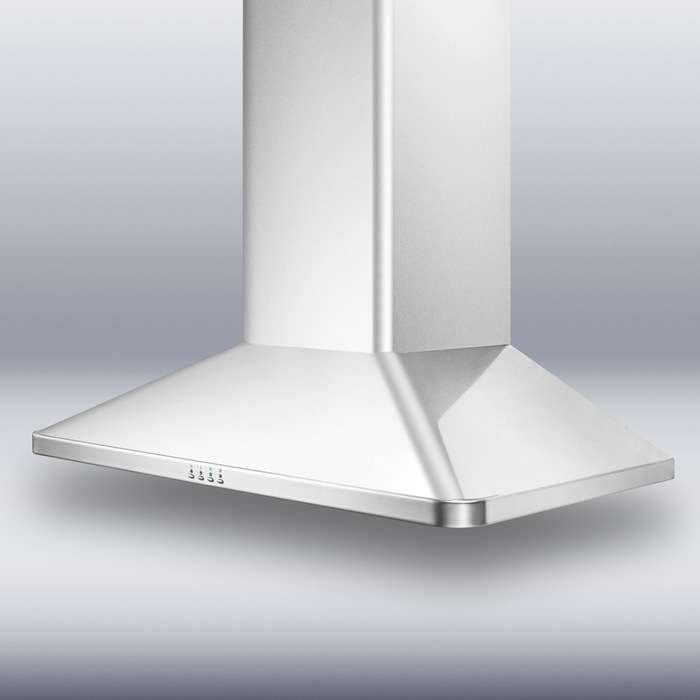 "Professional Series 36"" Stainless Steel Chimney Style Wall Mount Range Hood - 650 CFM"