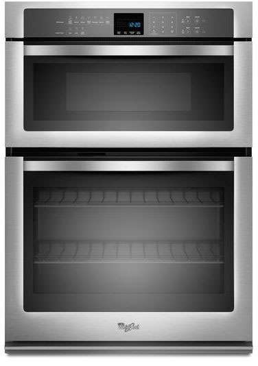 """30"""" Stainless Steel Electric Combination Wall Oven"""