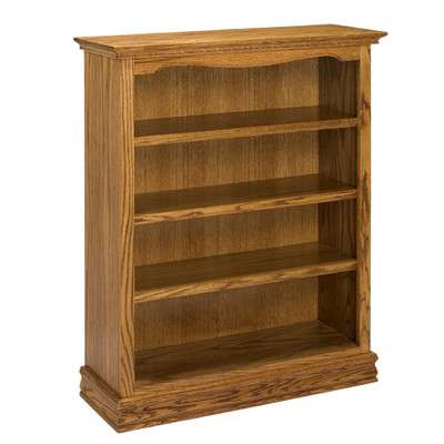 Ae Wood Design Americana Dark Oak 48bookcase Reviews Goedekerscom