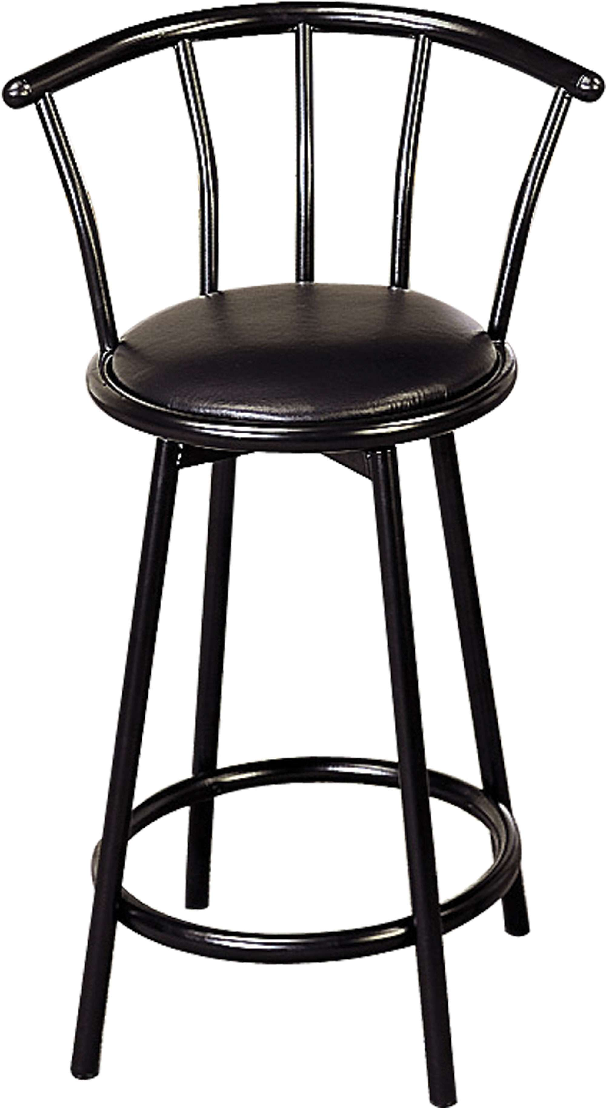 Coaster Buckner Black 24 Bar Stool Set Of 2 Reviews Goedekerscom