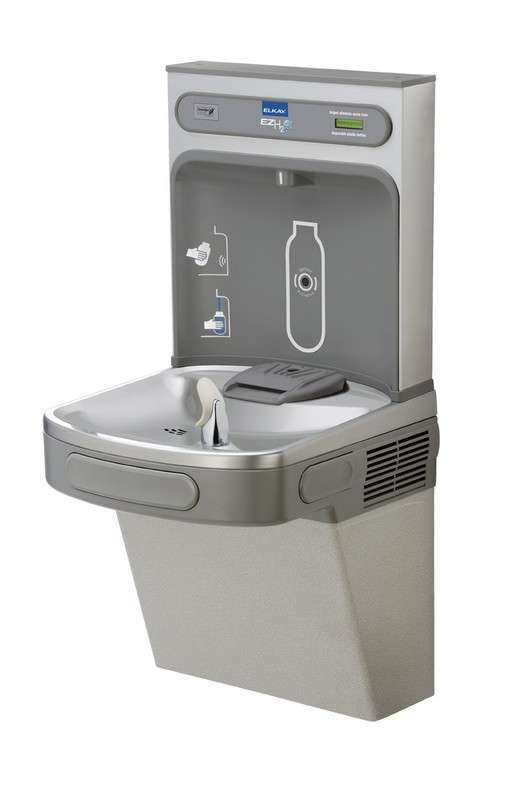EZ H2O Drinking Fountain EZS8WSLK Light Gray Granite - 115V/60Hz Drinking Fountain And Bottle Filler