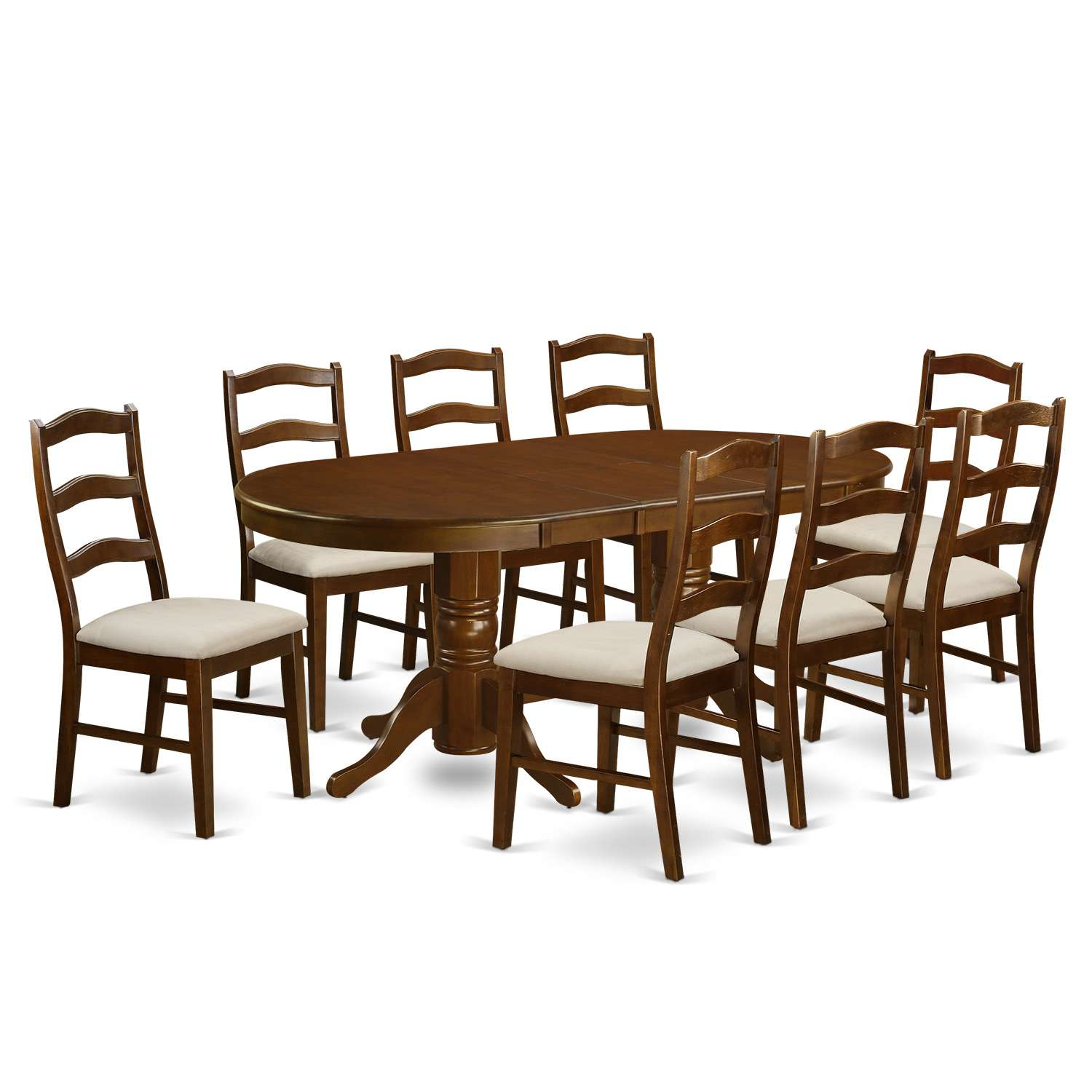 Vancouver 9 Piece Dining Table Set