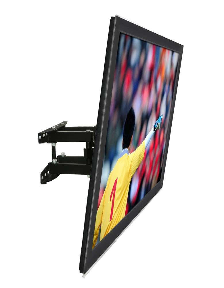 Mount It Full Motion Dual Arm Tv Wall Mount Bracket With Extendable