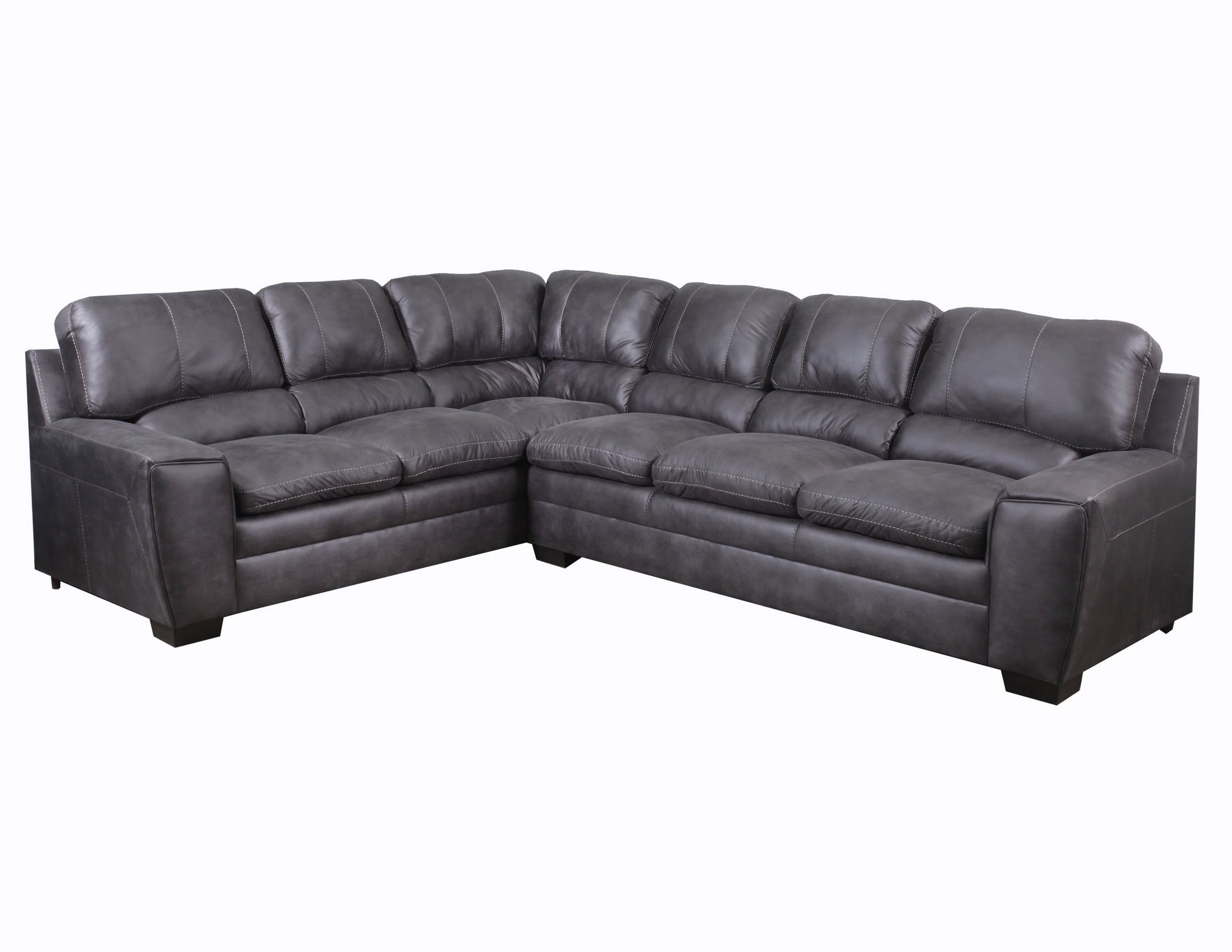 Gentil Shiloh Granite 2 Piece Sectional Sofa