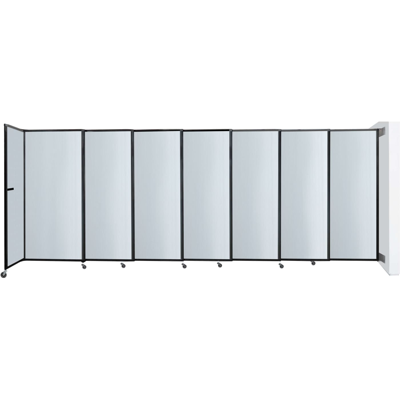 Versare StraightWall 76 x 113 Clear Polycarbonate Wall Mount