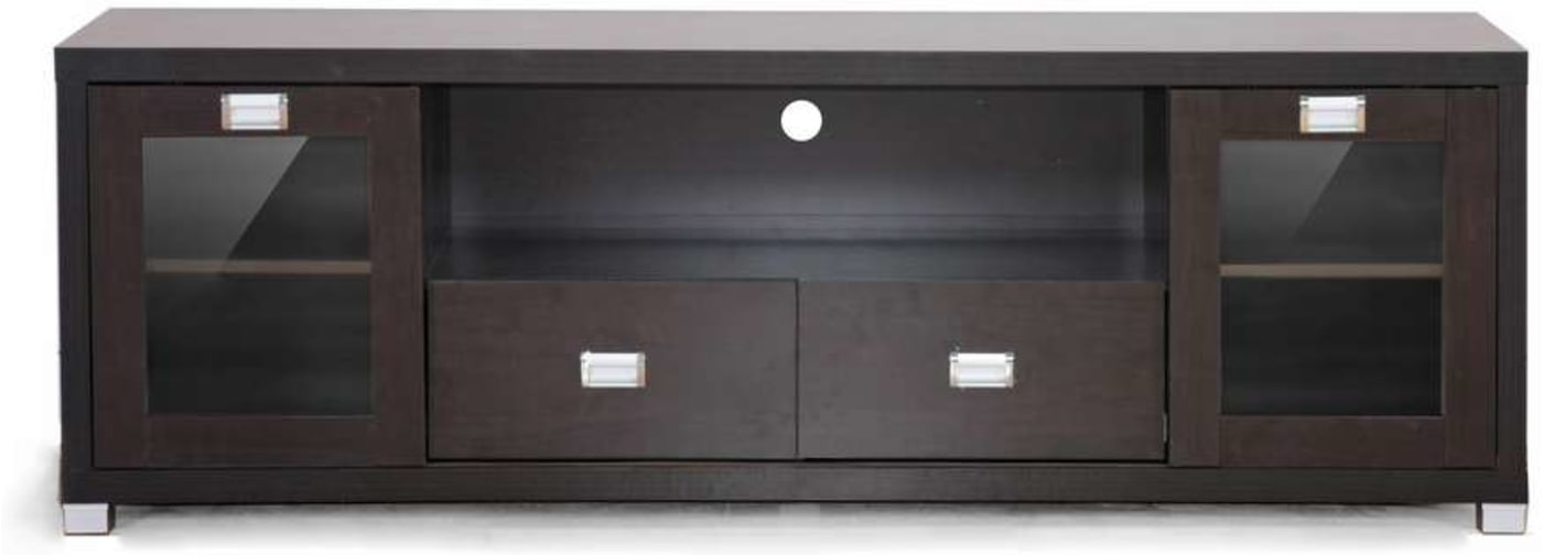Baxton Studio Gosford Black Wood Modern Tv Stand Reviews