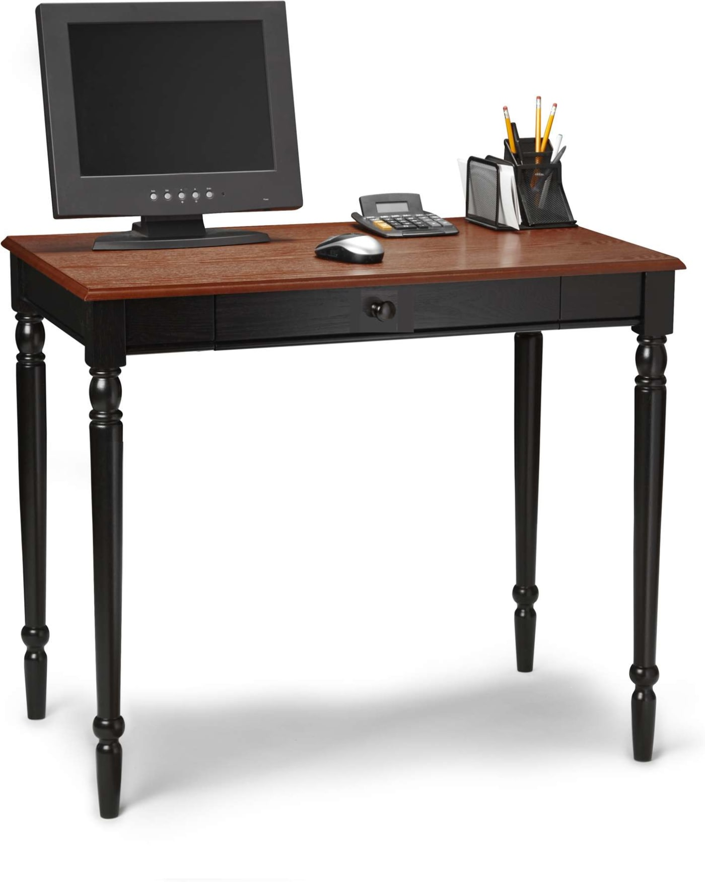 Convenience Concepts French Country Two Tone Desk