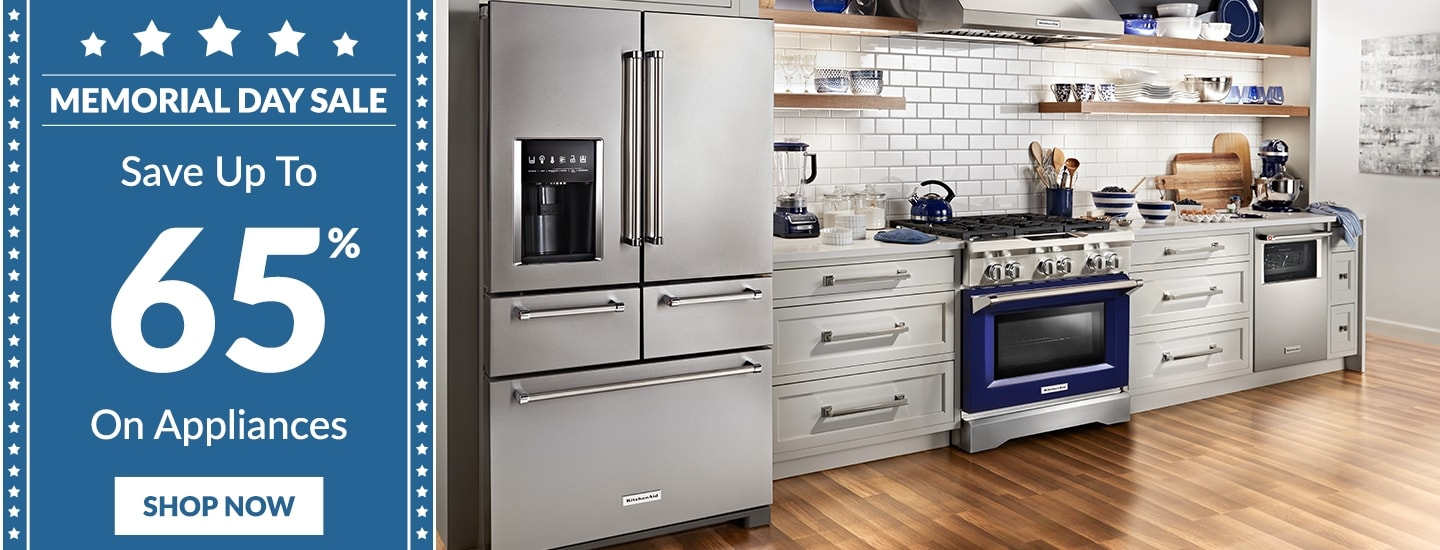Memorial day appliance sales