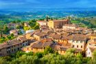 Scenic View of Medieval Buildings in San Gimignano