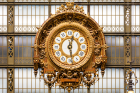 A Clock at the Musee D'Orsay in Paris