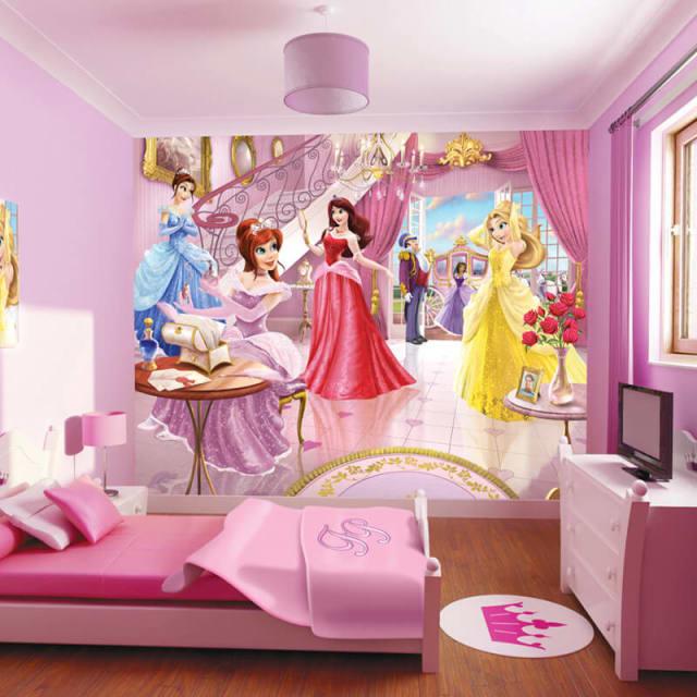 Children s wall murals for Fairy princess wall mural