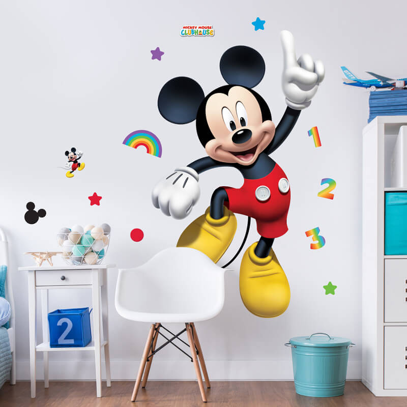 Walltastic Mickey Mouse Large Character Sticker   44326 Part 54