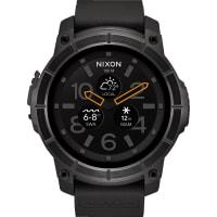 NIXON Smart Watch Mission Schwarz