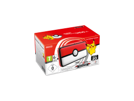 New Nintendo 2DS XL Limited Pokéball Edition