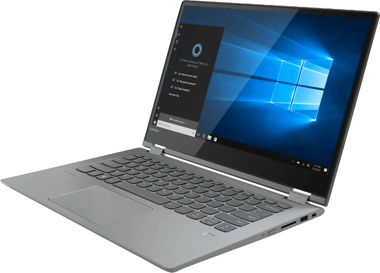 Black Lenovo Yoga 530.2