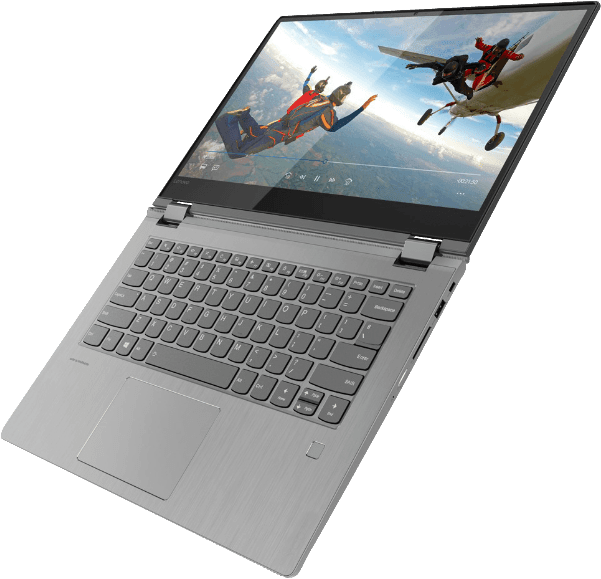 Black Lenovo Yoga 530.4