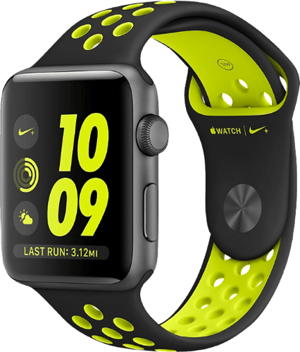 White Apple Watch Nike+ Series 2, 38mm.1