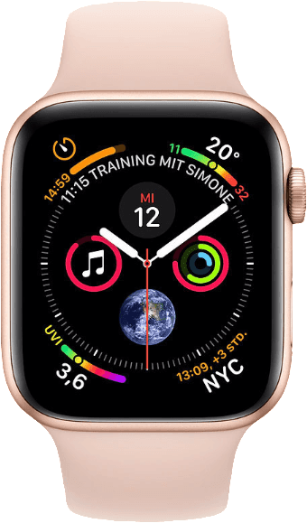 Gold & Rosa Apple Watch Series 4 GPS, 40mm.1
