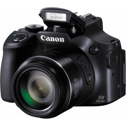 Black Canon PowerShot SX60 HS.1