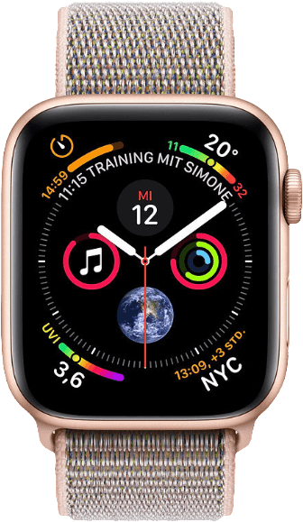 Rosa & Gold Apple Watch Series 4 GPS, 40mm.1