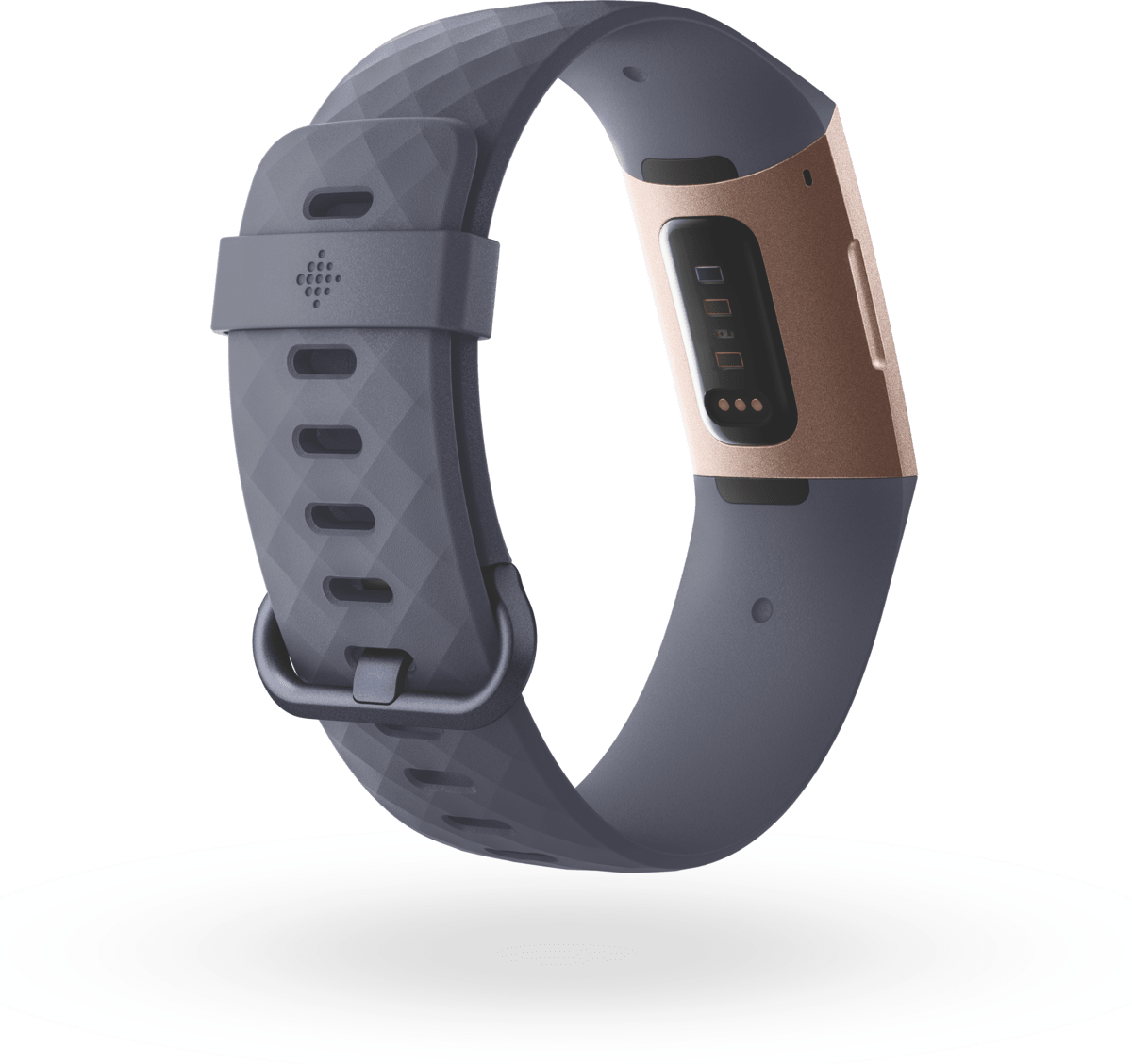 Rose Gold & Blue Grey Fitbit Charge 3.2
