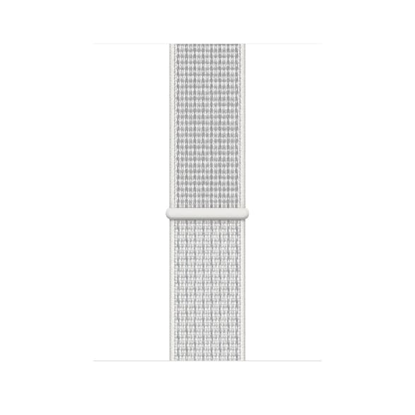 Silver Woven Apple Watch Nike+ Series 4 GPS + Cellular, 44mm.3
