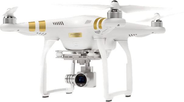 White DJI Phantom 3 Professional.1