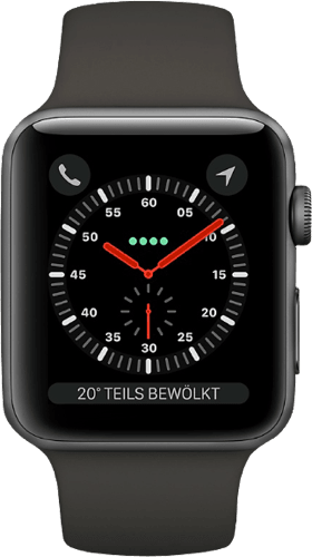 Space Grau Apple Watch Series 3 GPS, 38mm.2