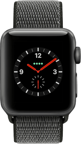 Spacegray Apple Watch Series 3 GPS + Cellular, 38mm.2