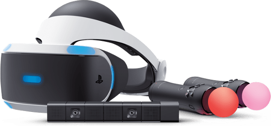 Weiß Sony PlayStation VR-Bundle .1