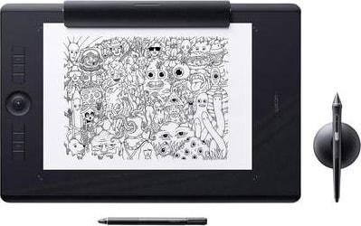 Schwarz Wacom Graphics Tablet Intuos Pro Paper L.2