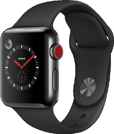 Schwarz Apple Watch Series 3 GPS, 42mm.1