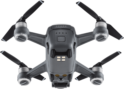 White DJI Spark Fly More Combo.4