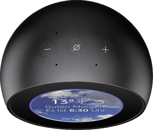 Black Amazon Echo Spot.4