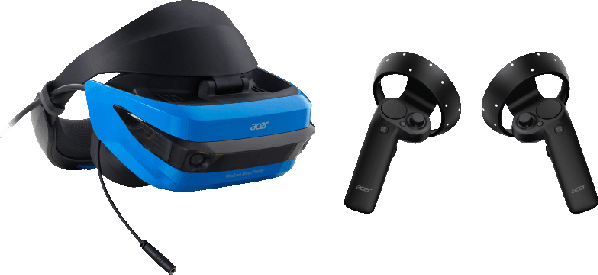 Black Acer Windows Mixed Reality .2