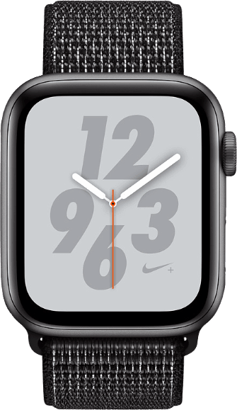 Scwarz & Grau Apple Watch Nike+ Series 4 GPS, 44mm.1