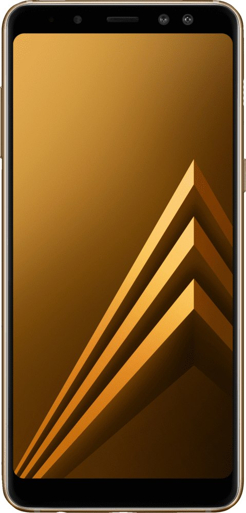 Gold Samsung Galaxy A8 (2018).1