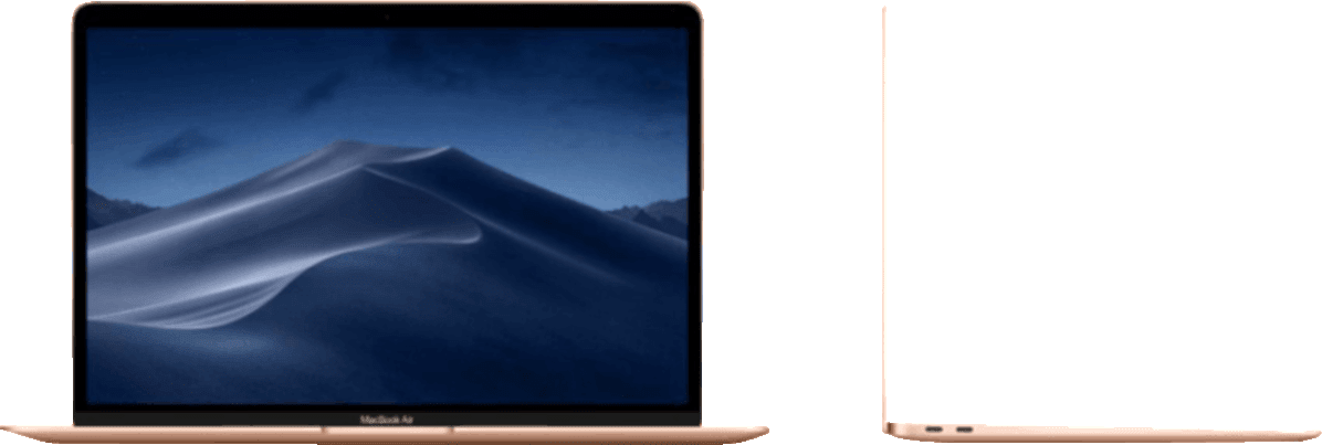 Gold Apple MacBook Air (Late 2018).3