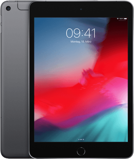 Space Grey Apple iPad mini 5 Wi-Fi + Cellular (2019).1