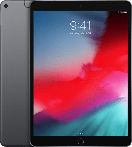Space Grau Apple iPad Air Wi-Fi + Cellular (2019).1